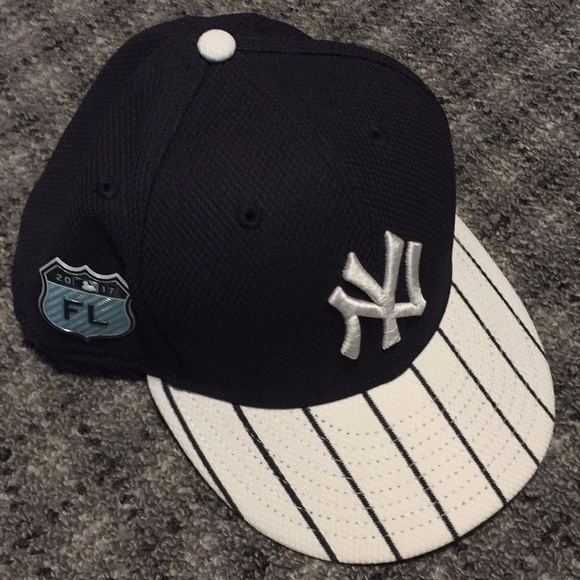 New York Yankees 2017 Spring Training Hat 7 1 2. M 5b7fe2635098a0f8e479096a 89cf8f5ace9a